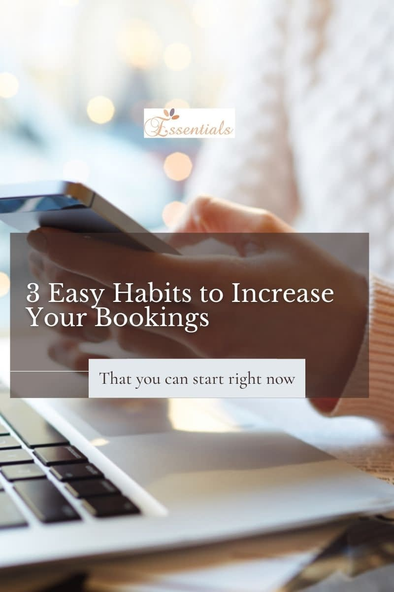 Increase bookings in your holistic therapy business