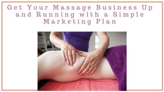 Marketing Plan for massage therapists